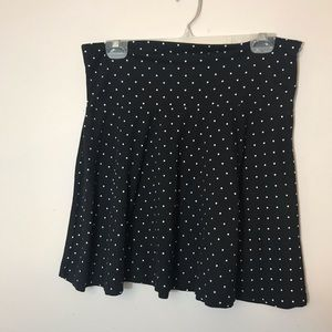 Stretchy Polka Dotted Skirt
